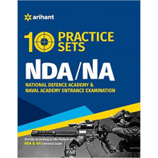 NDA and NA Entrance Exam 10 Practice Sets (English Medium)