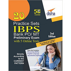 20 Practice Sets for IBPS PO Preliminary Exam 2016 ( English Medium )