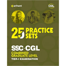 25 Practice Sets SSC-CGL Tier 1 Online Exam (English Medium)