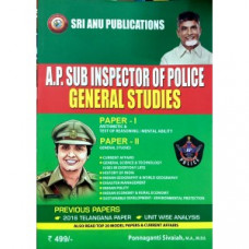 AP Sub Inspector of Police General Studies (English Medium)