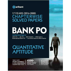 Bank PO Quantitative Aptitude Chapterwise Solved Papers (English Medium)