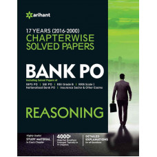 Bank PO Reasoning Chapterwise Solved Papers (English Medium)