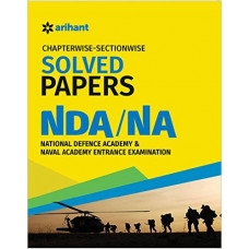 NDA and NA Chapterwise Sectionwise Solved Papers (English Medium)