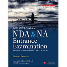 Dhaaras Guide for NDA and NA Entrance Examination (Englsih Medium)