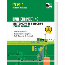 Civil Engineering Topicwise Objective Solved Papers 2 (English Medium)