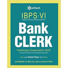 IBPS 6 Bank Clerk Preliminary Examination 2016 Success Master ( English Medium )