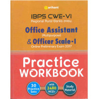 IBPS CWE 6 RRBs Office Assistant and Officer Scale 1 Prelims Practice Work Book 2017 (English Medium)