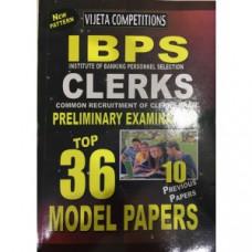 IBPS Clerk Preliminary Exam Top 36 Model Papers (English Medium)