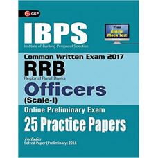 IBPS RRB Officers Scale 1 Preliminary Exam 25 Practice Papers 2017 (English Medium)