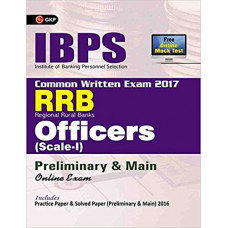 IBPS RRB Officers Scale 1 Preliminary and Main Exam Guide 2017 (English Medium)