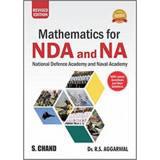 Mathematics for NDA And NA Exam by RS Aggarwal (English Medium)