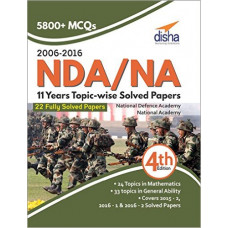 NDA and NA 11 years Topic wise Solved Papers 2006 to 2016 (English Medium)