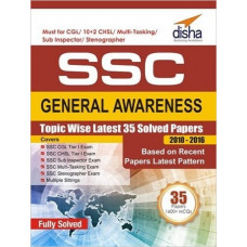 SSC General Awareness Topic wise Latest 35 Solved Papers 2010 2016 (English Medium)