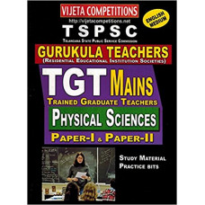 TSPSC Gurukula Teachers TGT Mains Paper 1 and Paper 2 Physical Sciences (English Medium)