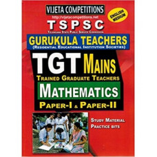 TSPSC Gurukula Teachers TGT Mains Mathematics Paper 1 and Paper 2 (English Medium)